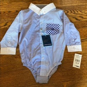 Button-up Onesie
